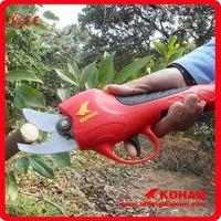 Koham Red Bypass Pruner Garden Scissor (KHAA10000 7-2) thumbnail image