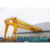 CH(W)B Series High Speed 2-120 Ton Hoist Half Gantry Crane Price On Sale thumbnail image