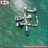 Inflatable Water Sports Park, Inflatable Commercial Water Park For Outdoor Entertainment thumbnail image