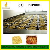 Commercial High Efficient Fried instant noodle Machine