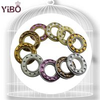 2015 fashionable interior design plastic curtain ring