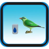 bird songs animal digital wireless doorbell