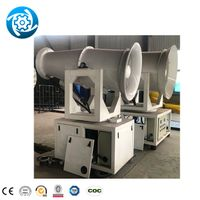 High Pressure Misting Dust Suppression System Water Standing 600 Mesh Mist Cannon With Generator Sma thumbnail image
