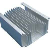 Extruded and fabricated aluminum radiator
