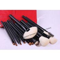21-piece Professional Cosmetic/Makeup Brush Set, Hair:Goat,sable,raccoon and nylon hair, Wood Handle thumbnail image