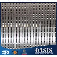 Manufacturer of the wedge wire screen johnson screen pipe for the well dril use