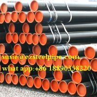 ASTM A53 sch40/schedule 40 seamless steel pipe manufacturers