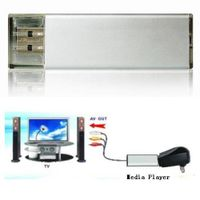 Flash Disk with Media Player, Can Play Audio, Video, Imager By TV