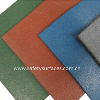 Playground surfacing/Patio rubber tile/Flooring rubber tiles thumbnail image