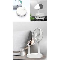 Desktop beauty Fan Portable Mini Fan Summer Air Cooling Rechargeable USB Fans Bladeless Fan