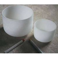 frosted singing bowl