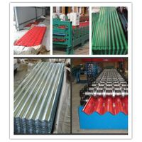 Good  Quality Corruagted Steel Roofing Sheet ( Plate ) ( 0.125--1.4mm)