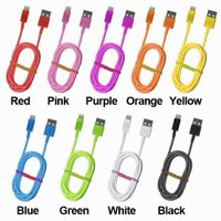 Newest muti-color 8 pin Lightning USB Cable Data Line USB 2.0 for Apple iPhone 5 Factory price thumbnail image