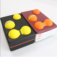New Product High Density EVA Foam 4 in 1 Yoga Block Set with Massage Balls
