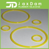 China factory high quality yellow silicone o ring
