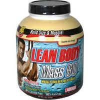 Labrada Nutrition Lean Body Mass 60, Muscle Builder Milk Shake, Vanilla Ice Cream Flavor - 6 lbs