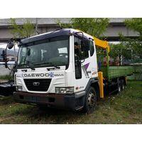 Daewoo Novus SE (used 2012)+ new crane Soosan SCS 736 L II thumbnail image