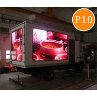 P10 Real pixel full color truck mounted Mobile LED Screen