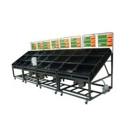 Fruit and Veg Display Unit, Supermarket Display Fixture