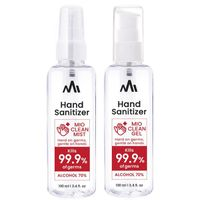 Portable 70% Alcohol Gel Type, Spray Type Hand Sanitizer (Made in South Korea) thumbnail image