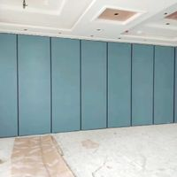Five Star Hotel Lobby Demountable Walls Melamine Board Movable Acoustic Partitions