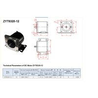 Vacuumn Pump motor ZYT8320 for car brake