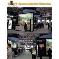 Exhibition Booth Design and Fabrication for ProWine China in Shanghai
