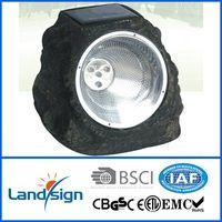 Salt stone shape solar lamp outdoor thumbnail image
