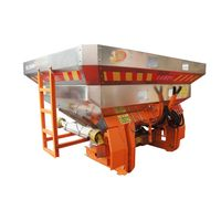 agricultural stainless steel tank fertilizer spreader