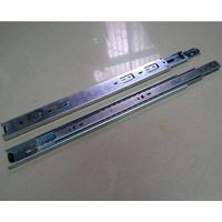 Width 42mm three-fold drawer slide for furniture