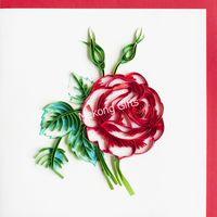 Rose Gift Card-MK3118