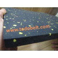 Rubber gym mat