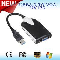 Factory director sales USB 2.0 input, 15 pin VGA output, convert USB 2.0 to VGA adaptor USB External thumbnail image