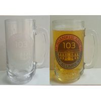 AirPont Thermochromic cold sensitive ColorChange logo beer glass thumbnail image