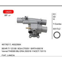combo thermostat for FIAT, LANCIA. 46776217, 46522664.