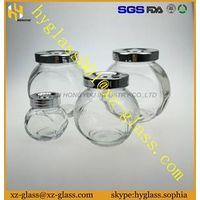 Alibaba China New glass jar different size glass bottle storages jar
