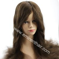 Lace with Clear PU Edge Silk Top Wig