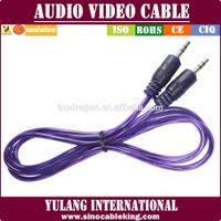 nickle Plated High Performance 3.5mm Stereo Aux Cable For Audio Video Cables for indonesia