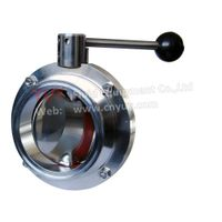 Din 11850 butterfly valve