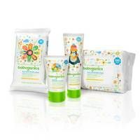 Babyganics Face, Hand & Baby Wipes, Fragrance Free, 400 Count (Contains Four 100-Count Packs) thumbnail image