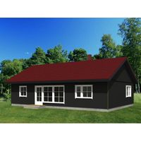 One storey Farm House Prefab House Light Gauge Steel Building