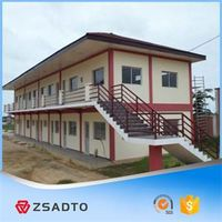 Safe and durable K type portable dwelling prefabricated house with resonable price