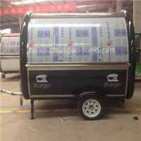 Stainless Steel Mobile Fast Food Trailer thumbnail image