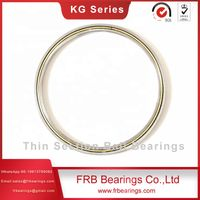 Thin section angular contact KG series bearing