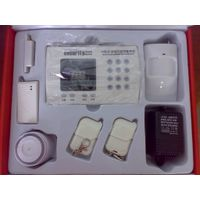 wireless intelligence  gsm  burglar  alarm system for home and commercial