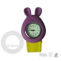 Silicone slap watch for kids , Silicone geneva jelly watches wholesale ,price ,factory