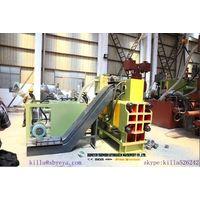 Hydraulic Automatic Metal Scrap Powder Briquette Baler Machine With Conveyor thumbnail image