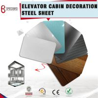 Mirror Finish Mirror Finish Stainless Steel Sheet for Elevator Interfor Elevator Interior Decoration
