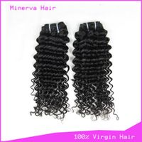 Wholesale Malaysian virgin human hair weaves deep wave thumbnail image