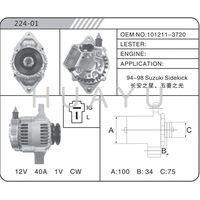 SUZUKI ALTERNATOR MOTOR 101211-3720 12V 40A
